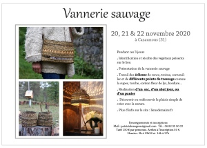 stage vannerie sauvage