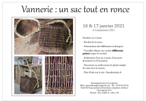 stage vannerie en ronce